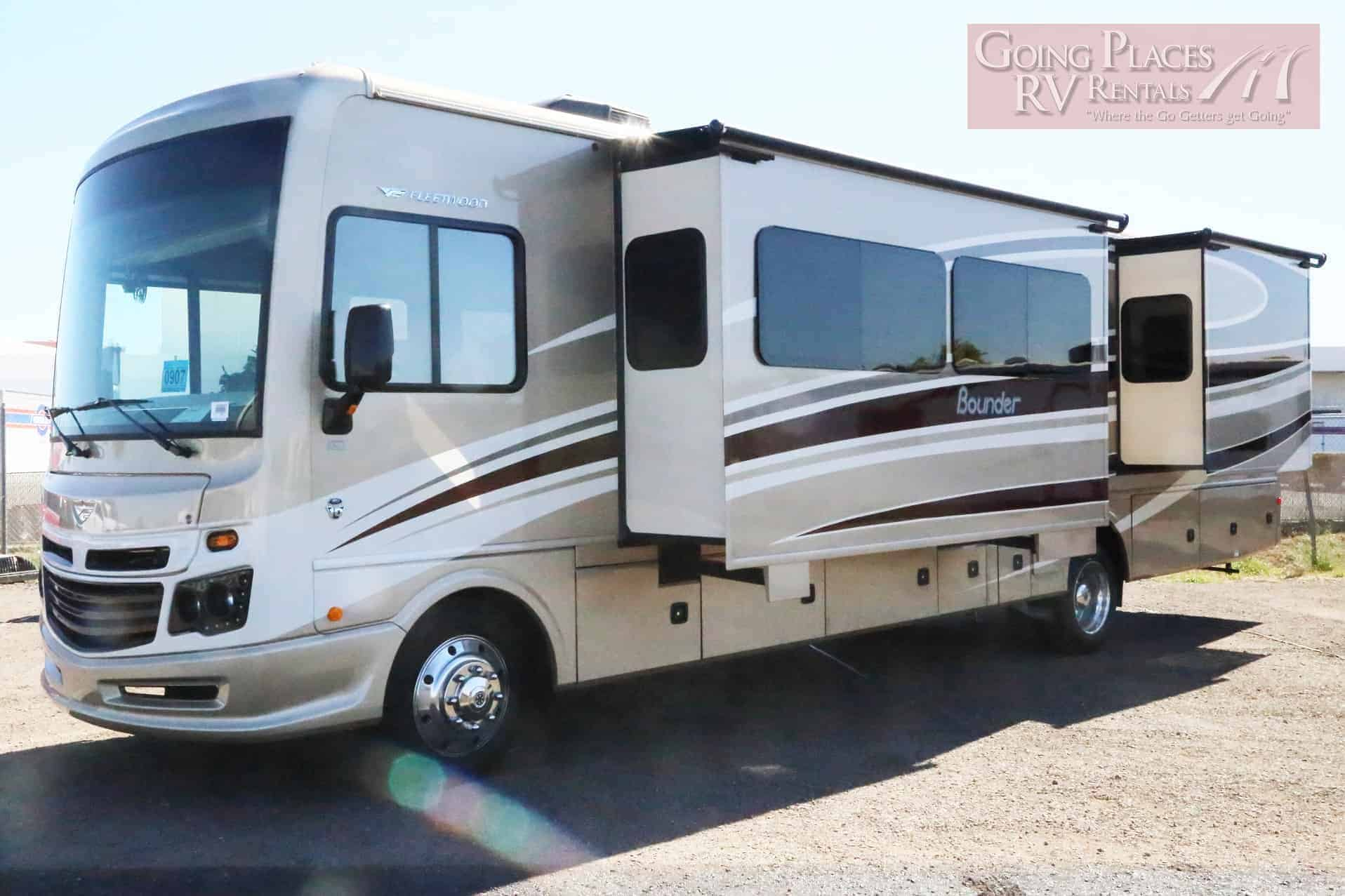 Bounder 36 ft Class A RV for rent - RV rentals Phoenix Going Places RV
