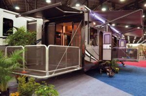 Cyclone 4 44' Fifth Wheel Toy Hauler for rent - RV rentals Phoenix AZ - Going Places RV