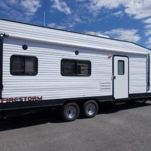 Firestorm 30' Toy Hauler for rent - RV rentals Phoenix AZ - Going Places RV Rentals