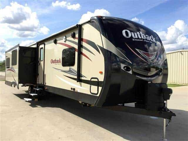 Outback Diamond Travel Trailer for rent RV rentals Phoenix AZ Going Places RV