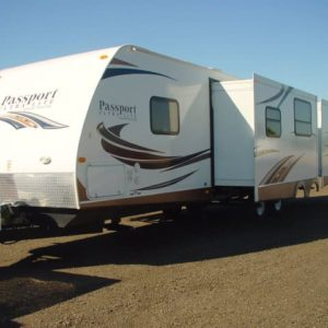 Passport 36' travel trailer for rent - RV rentals Phoenix AZ - Going Places RV