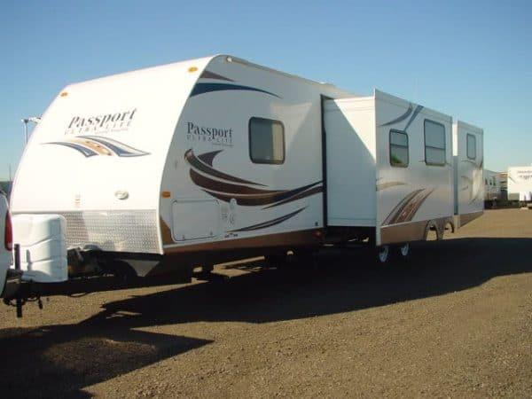 Passport 36' travel trailer for rent - RV rentals Phoenix AZ - Going Places RV
