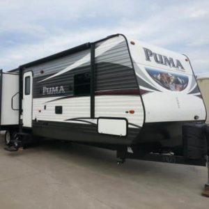 Puma 37' travel trailer for rent - RV rentals Phoenix AZ - Going Places RV