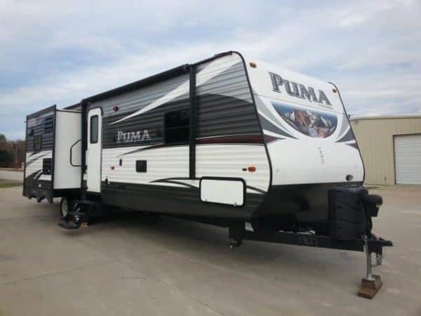 Puma 37' travel trailer for rent - RV rentals Phoenix AZ - Going Places RV