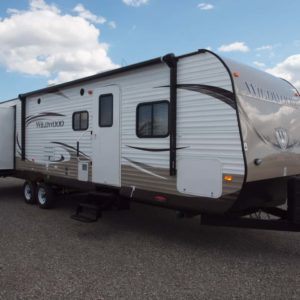 Wildwood 35' travel trailer for rent - RV rentals Phoenix AZ - Going Places RV Rentalls