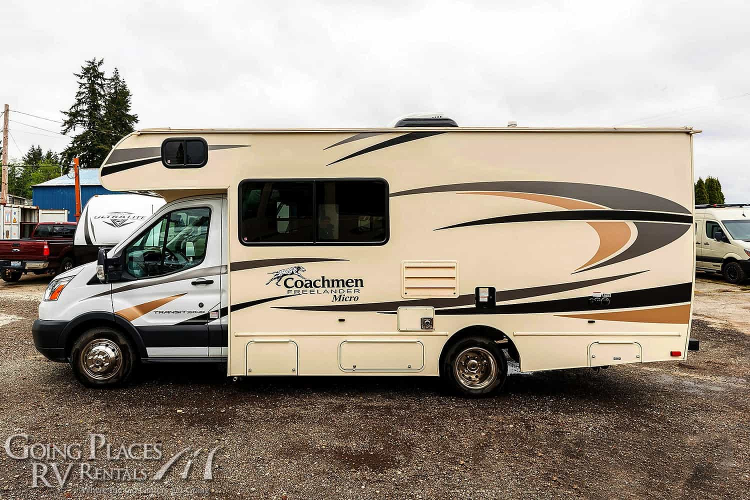 Coachmen Freelander Micro Class C RV for rent Phoenix - Going Places RV Rentals - 623-221-1161