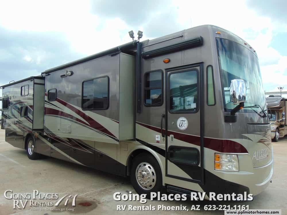 2013 Tiffin Allegro 37ft RV for rent Phoenix - Going Places RV Rentals Phoenix