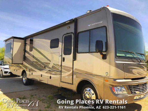 2015 Fleetwood Bounder 36ft RV for rent Phoenix - Going Places RV Rentals Phoenix