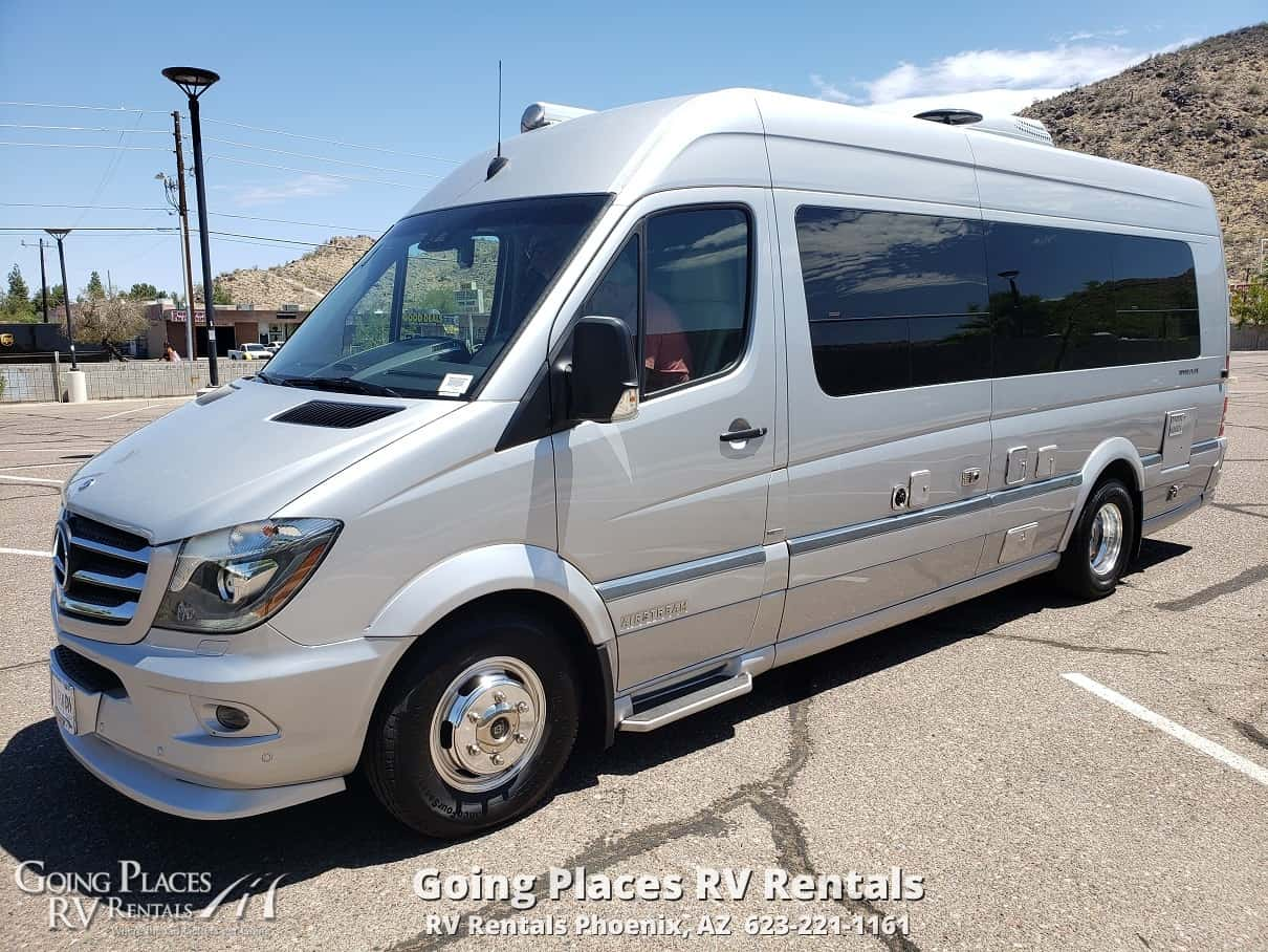 2016 Mercedes Airstream Class B RV for rent Phoenix - Going Places RV Rentals Phoenix