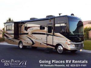 Fleetwood Bounder 36ft RV for rent Phoenix - Going Places RV Rentals Phoenix
