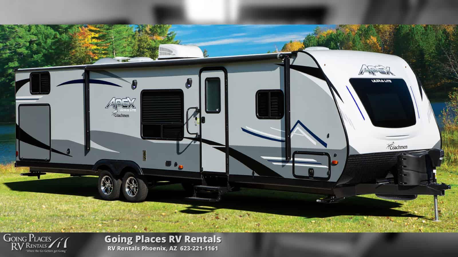 2019 Coachmen Apex 32' Travel Trailer for rent Phoenix - Going Places RV Rentals Phoenix